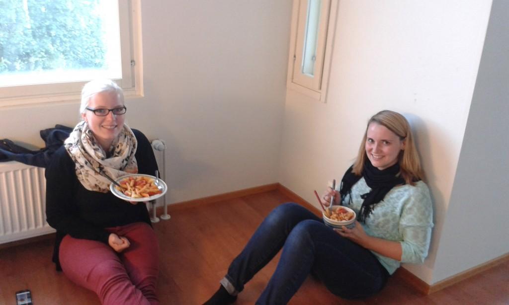 Das erste finnische Dinner