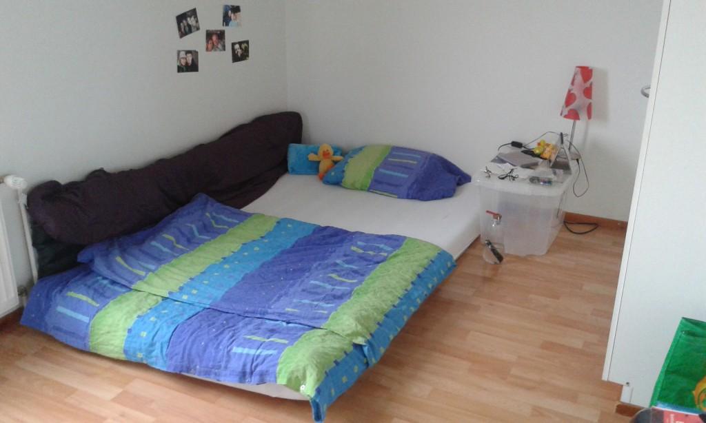 Und meine neue Matratze
