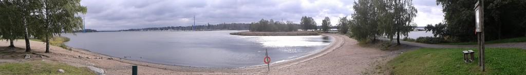 Und den Strand von Vaasa hab ich auch schon entdeckt!
